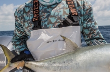 Grundens recreational and commercial fishing clothing line in Florida Keys